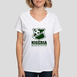 Retro Green Eagles Ash Grey T-Shirt