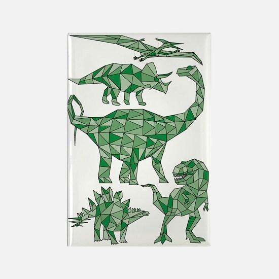 Cute Dinosaur lover Rectangle Magnet