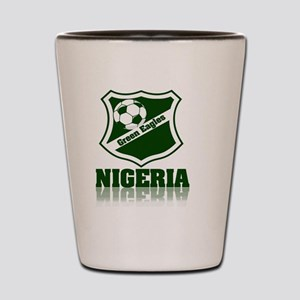 Nigerian Green Eagles Shot Glass
