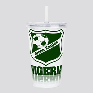 Nigerian Green Eagles Acrylic Double-wall Tumbler