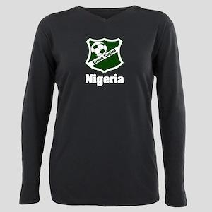 Nigerian green eagles Plus Size Long Sleeve Tee