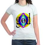 225. goood.. Jr. Ringer T-Shirt