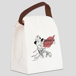 drive it Canvas Lunch Bag
