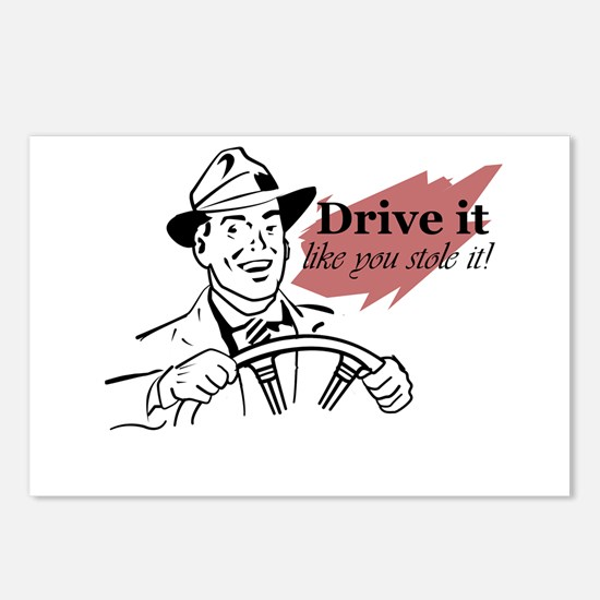 drive it Postcards (Package of 8)