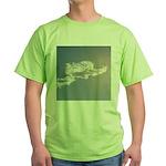 1801. cloud angel. . ? Green T-Shirt