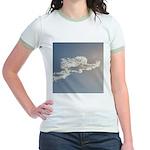 1801. cloud angel. . ? Jr. Ringer T-Shirt