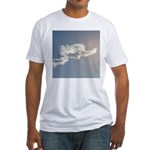 1801. cloud angel. . ? Fitted T-Shirt