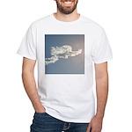 1801. cloud angel. . ? White T-Shirt