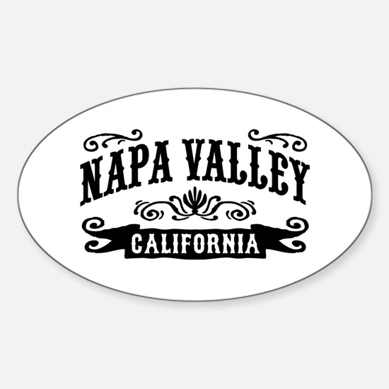 Napa Valley Sticker (Oval)