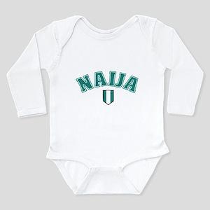 naija soccer shirt Infant Creeper Body Suit