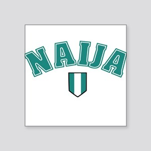 Naija designs Sticker