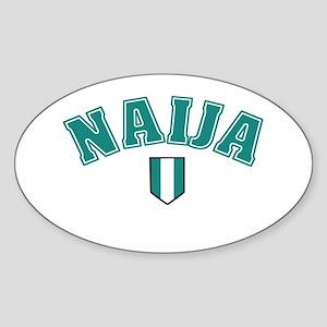 Naija designs Sticker