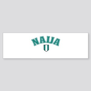 Naija designs Bumper Sticker