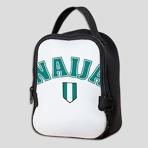 Naija designs Neoprene Lunch Bag