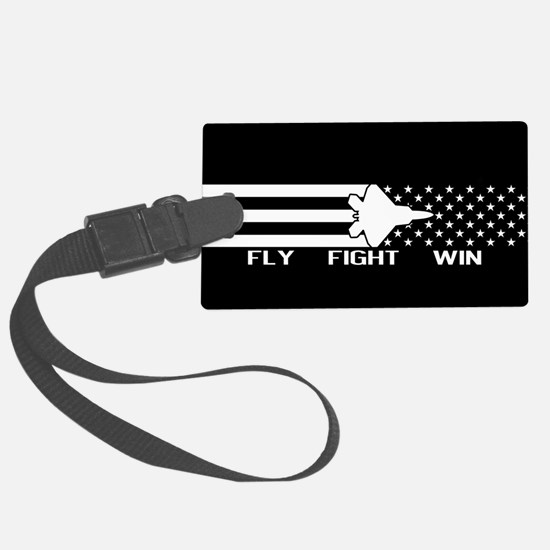 U.S. Military: F-22 - Fly Fight Luggage Tag