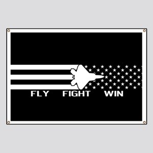 U.S. Military: F-22 - Fly Fight Win (Black Banner