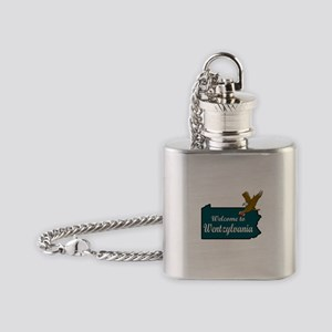 Welcome to Wentzylvania Flask Necklace