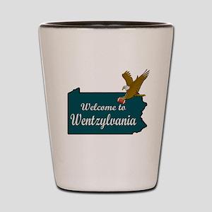 Welcome to Wentzylvania Shot Glass