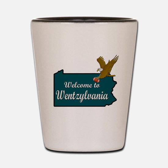 Welcome to Wentzylvania Shot Glass