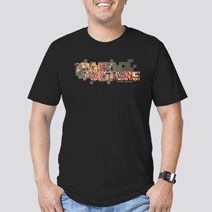 Transformers Logo Men's Fitted T-Shirt (dark)
