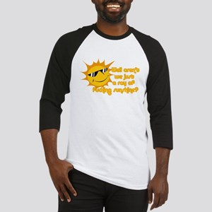 Ray of sunshine Baseball Jersey