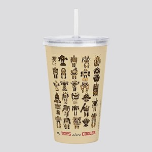 Transformers My Toys W Acrylic Double-wall Tumbler