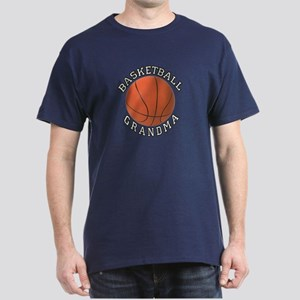 Basketball Grandma Dark T-Shirt