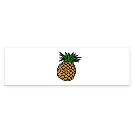 Pineapple Bumper Sticker
