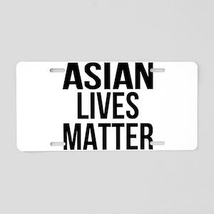 Asian Lives Matter Aluminum License Plate