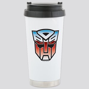 Transformers Autobot Sy Stainless Steel Travel Mug