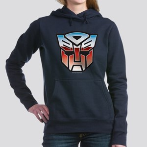 Transformers Autobot Sym Women's Hooded Sweatshirt