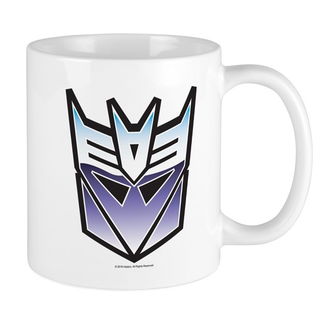 Transformers Decepticon Symbol Mug By Transformers4