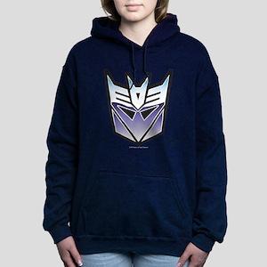 Transformers Decepticon Women's Hooded Sweatshirt