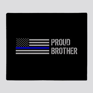 Police: Proud Brother Throw Blanket