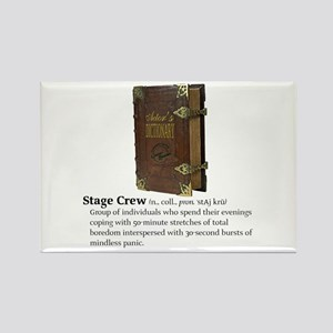 Actor's Dictionary Stage Crew Fridge Magnet