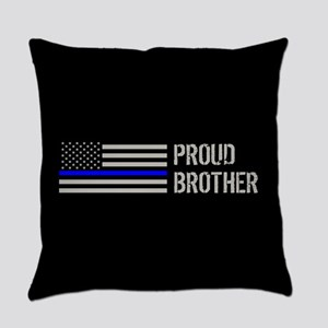Police: Proud Brother Everyday Pillow