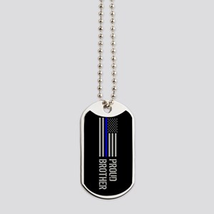 Police: Proud Brother Dog Tags