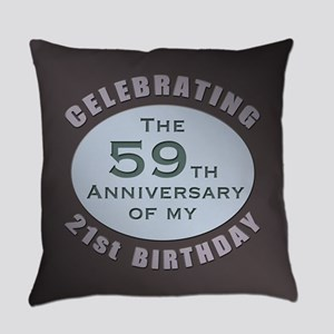 Milestone 80th Birthday Everyday Pillow
