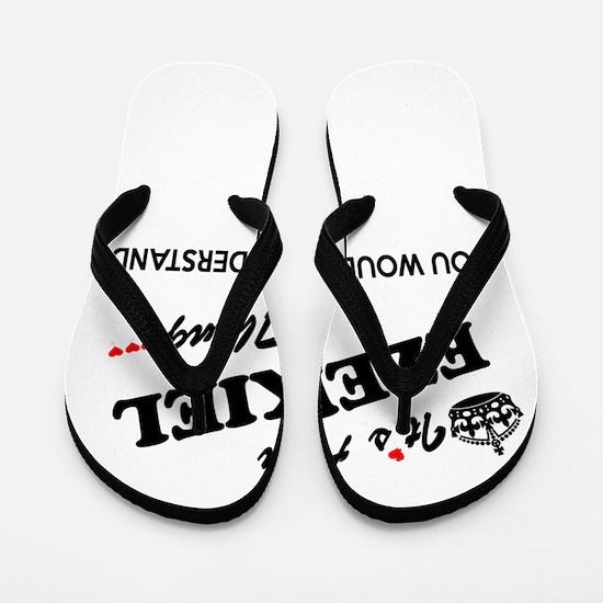 Funny Ezekiel Flip Flops