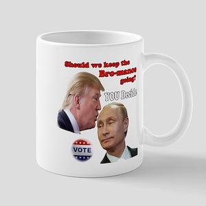 Stop the Bromance Mugs