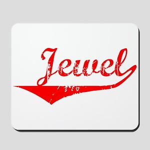 Jewel Vintage (Red) Mousepad