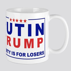 Putin-Trump Liberty Is for Losers Mugs