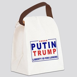 Putin-Trump Liberty Is for Losers Canvas Lunch Bag