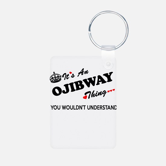 Unique Ojibway Keychains