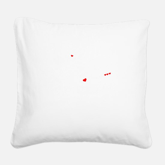 Cool Bruce Square Canvas Pillow