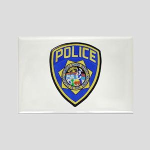 Compton School Police Magnets