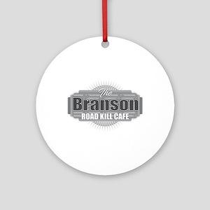 Branson Road Kill Cafe Round Ornament