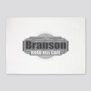 Branson Road Kill Cafe 5'x7'Area Rug