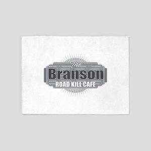 Branson Road Kill Cafe 5'x7'Area Rug