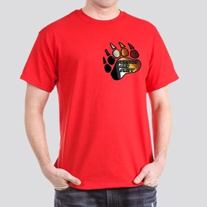 BEAR PRIDE PAW/SCRATCH/SNIFF Dark T-Shirt